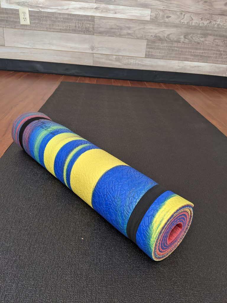 TOPLUS Eco Yoga Mat - Rainbow: A Review & Pictures 6